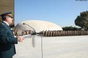 احتفال عسكري رمزي في مبنى وزارة الدفاع وقيادات المناطق لمناسبة عيد الجيش