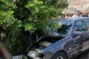 بالصور ... جرحى بحادث سير على طريق الميذنة - كفررمان