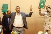 انتشار لهاشتاغ #السودان_الحكم_المدني بعد التوقيع بالأحرف الأولى على الإعلان الدستوري