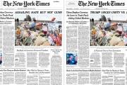 'نيويورك تايمز' تعدل عنواناً رئيسياً في الصفحة الأولى بعد ساعة من نشره.. ماذا حصل؟!