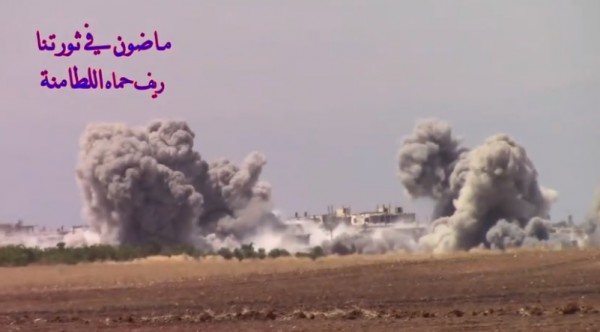 بالفيديو - بعد قرية الزكاة.. الاحتلال الروسي يحاول إزالة مدينتي اللطامنة وكفرزيتا عن الخارطة