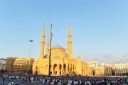بالصور ... صلاة عيد الأضحى في مسجد الأمين