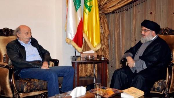 حزب الله يعايد 'الاشتراكي' وبرّي يجمعهما قريباً في دارته