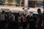 بالفيديو ... زحمة مسافرين في مطار بيروت