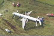 طيور النورس تجبر طائرة روسية على الهبوط اضطرارياً في حقل ذرة