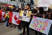 تظاهرات 'هونغ كونغ' تنتقل إلى المدن الكندية
