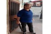 بالفيديو ... أطلق النار على شخصين في البازورية ويهدد بتفجير نفسه