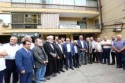 مركز حزب الله الإعلامي مزاراً في الضاحية