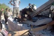 حصيلة الضحايا ترتفع.. الطائرات الحربية تركز قصفها على معرة النعمان ومحيطها