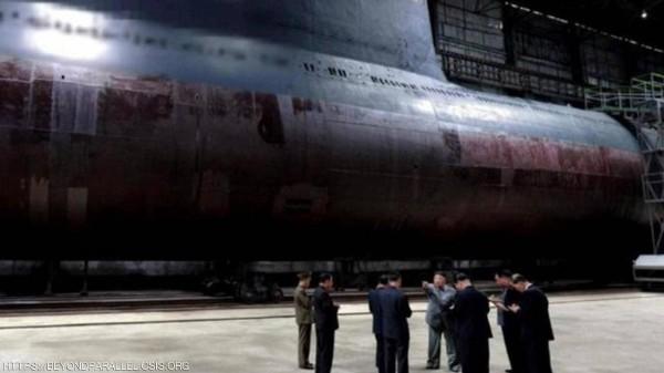 صور جوية تكشف: 'غواصة نووية' تستعد للعمل في كوريا الشمالية