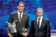فان دايك أفضل لاعب في أوروبا متفوقاً على ميسي ورونالدو