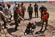 قوات النظام السوري تعثر على مقبرة جماعية لعناصرها في خان شيخون