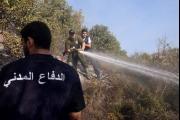 الموسم مستمر حتى نهاية تشرين الأول: 2500 حريق سنوياً في لبنان!