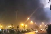 بالفيديو..انفجار كبير في طرابلس مقابل سكة الحديد