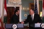 سعد الحريري الذي يبتسم له بومبيو ويمدحه نصرالله
