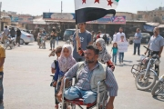 مظاهرات مناهضة لدمشق وحليفها الروسي في إدلب