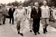 أول رئيس سوري يقصف شعبه، وكاد يعيّن إيلي كوهين وزيراً للدفاع.. ماذا تعرف عن أمين الحافظ الملقب بـ «أبو عبدو الجحش»؟