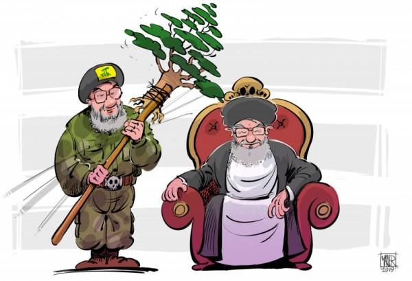 حزب الله يورط لبنان في أجندات إيران السياسية
