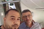 الصورة الأولى للبناني حسن جابر بعد الافراج عنه