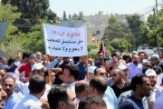 معلمو الأردن يرفضون دعوة الرزاز لإنهاء إضرابهم عن العمل