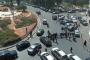 التحكم المروري: تجمع عدد من المحتجين في محلة الاونيسكو وحركة المرور كثيفة (صورة)