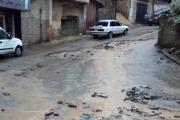 سيول وأضرار نتيجة الأمطار الغزيرة في عكار العتيقة