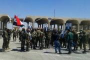 درعا:مليشيات النظام تُخرجُ'فصائل التسوية'من معبر نصيب