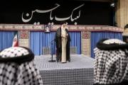 خامنئي «يتهيب» امام المواكب الحسينية.. «الوحدة بين إيران والعراق»!