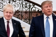 جونسون يبحث مع ترامب الحاجة لرد دبلوماسي موحد على هجمات السعودية