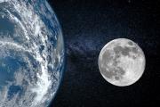 كيف سيكون شكل الأرض إذا كان القمر غير موجود؟