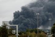 حريق كبير في مصنع كيميائي في مدينة روان الفرنسية ولا ضحايا