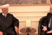 دريان إلتقى سفير الاتحاد الأوروبي في لبنان وجمال عيتاني