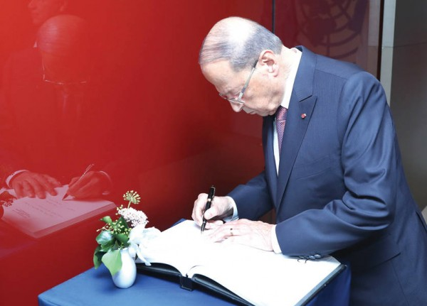 الرئيس عون شدد خلال لقائه برئيس جمعية المصارف على دور الاخيرة في طمأنة اللبنانيين من خلال اجراءات تتخذها مع مصرف لبنان