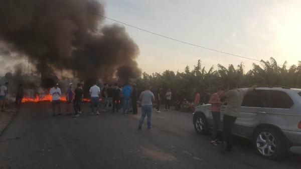 قطع عدد من الطرق في قضاء بنت جبيل