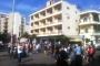 المتظاهرون توجهوا الى شارع الحمرا