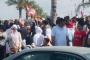 محتجون تجمعوا عند مفرق العباسية