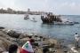 صيادون تظاهروا بمراكبهم في بحر صور مقابل ساحة العلم