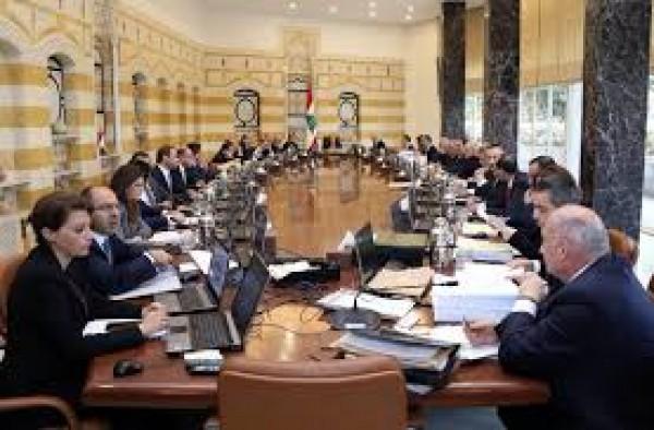 بدء جلسة مجلس الوزراء في بعبدا