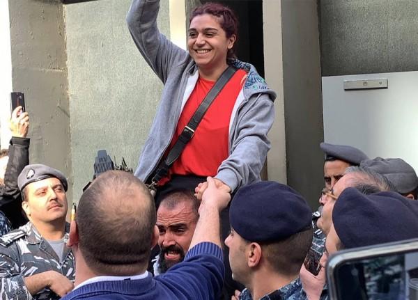 إطلاق سراح الناشطة دانا حمود