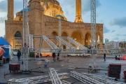 على أهبة الاستعداد.. الثوار جاهزون لاستقبال 2020 في ساحة الشهداء!