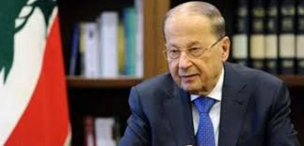 الرئيس اللبناني ميشال عون عبر حسابه على 'تويتر