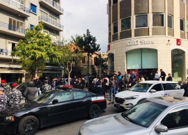 تلامذة اقفلوا مكاتب 'الفا' و'اوجيرو' في جونيه