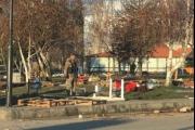 الجيش يزيل خيم المحتجين في زحلة