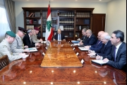 الرئيس عون: الأزمة الاقتصادية والمالية في لبنان 'موضع معالجة'