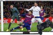 نجوم الدوري الإسباني الكروي ينقلون ملاعبه إلى شاشة الفيديو