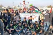 شباب غزة يضمدون جراح «النصيرات» بالورود ورسائل الحب