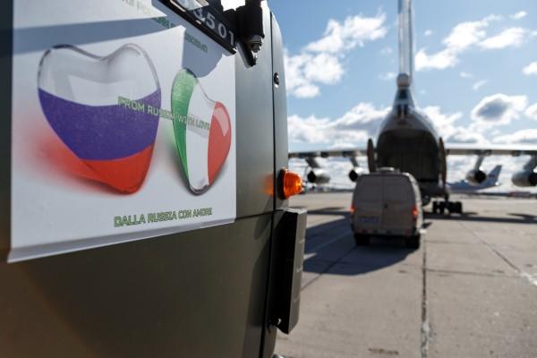 لماذا هبّت روسيا لنجدة إيطاليا؟