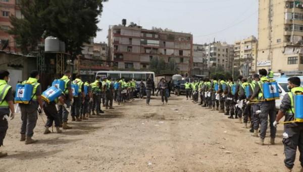 'الهيئة الصحية الإسلامية' أو جيش حزب الله بحرب كورونا