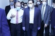 دياب تفقد مستشفى الحريري: وقَّعت السلسلة للعاملين بقيمة مليار و50 مليوناً