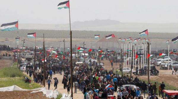 الفلسطينيون يحيون «يوم الأرض» بفعاليات رقمية ورمزية
